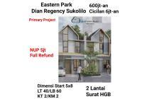 Rumah baru Eastern Park Sukolilo surabaya pusat