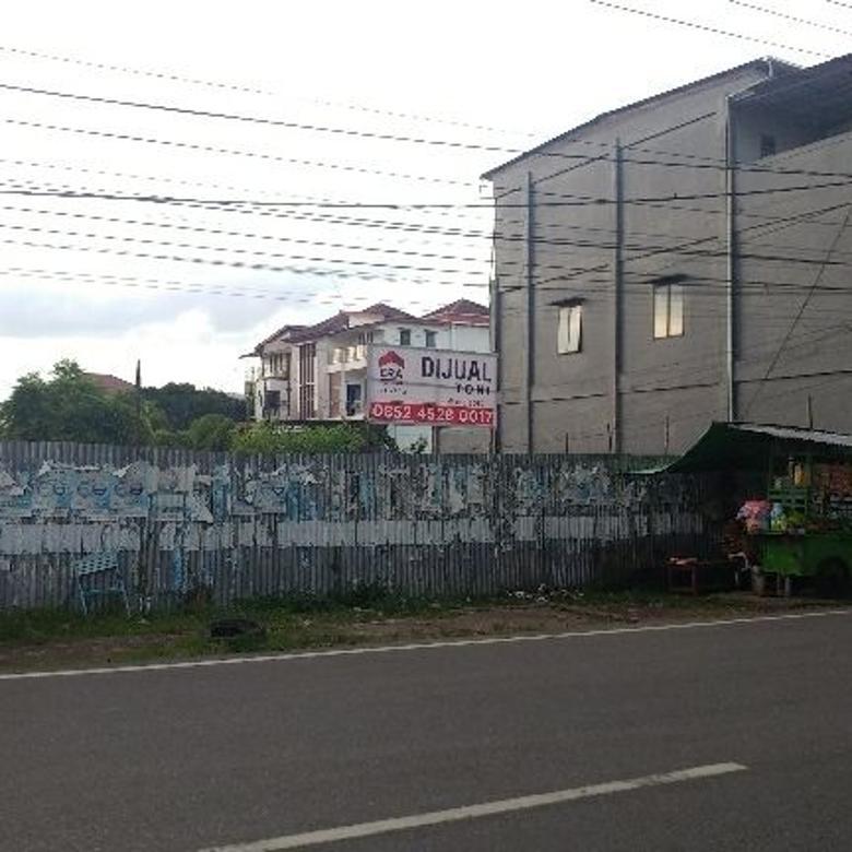 Dijual Tanah Tepi Jalan Purnama 1 Pontianak Selatan