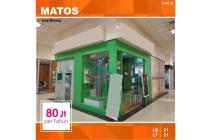 Kios di Matos Mall kota Malang _ 245.18
