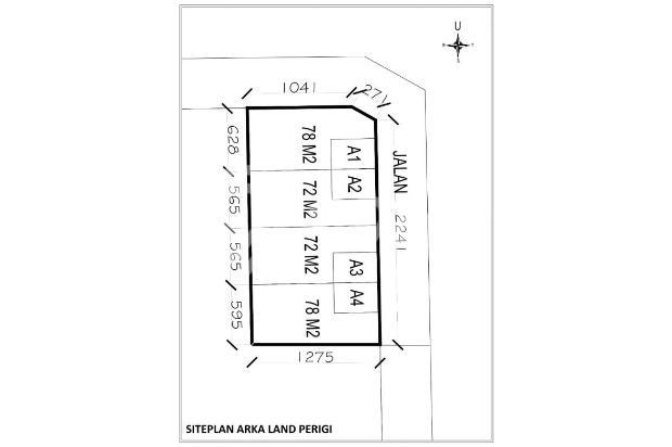 Kapling Tanah CICIL 12 X BERTAHAP, Legalitas Aman: SHM 16577535