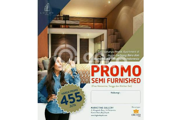 Dijual apartemen strategis di depok dekat toll cijago kampus UI 13872839