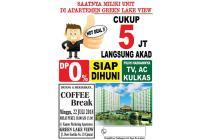 Dijual Apartemen Siap Huni di Green Lake View Tangerang Selatan