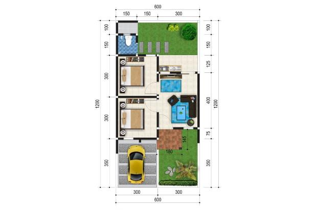 Rp284jt Rumah Dijual