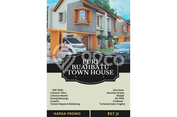 promo rumah baru 2 lantai strategis selangkah pintu tol buahbatu bandung 17698343