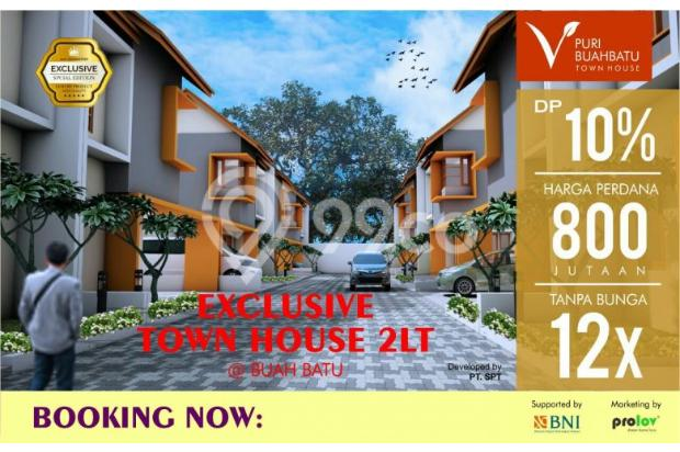 promo rumah baru 2 lantai strategis selangkah pintu tol buahbatu bandung 17698352