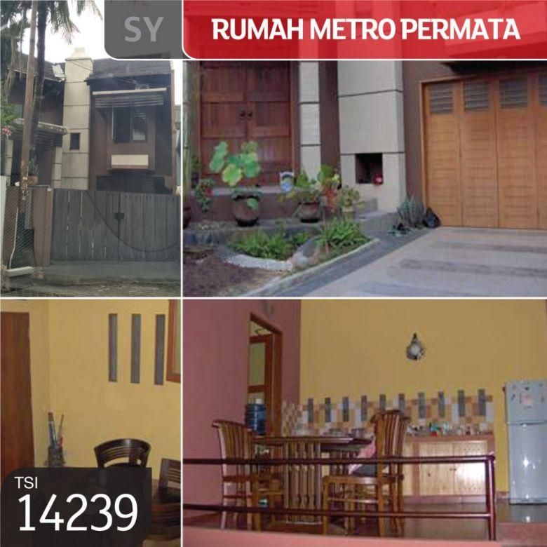 Rumah Metro Permata, Karang Mulya, Tangerang, 276 m², 2 Lt, SH
