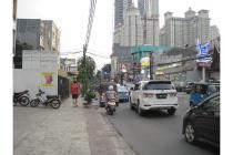 Disewakan tanah kavling komersial 12x25 di tanjung duren raya