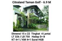 Rumah DIJUALMinimalis Modern Tropis:@ Taman Golf, Citraland 6.9M nego