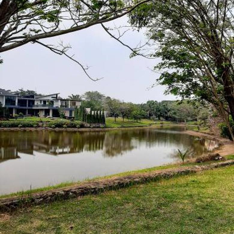 kavling Sutera Telaga Biru lt.1000, view Danau