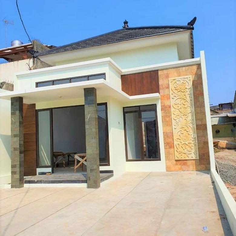 Rumah Manis Dengan Konsep Balinese , Harga Kompetitif dengan Lokasi Strategis