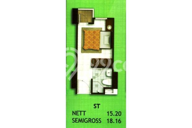Apartemen Madison Park Unit STUDIO FULL FURNISH tahunan Jakarta Barat 16521854