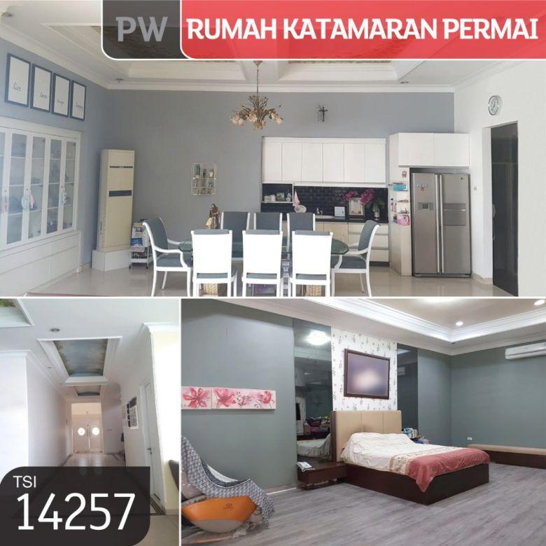 Rumah Katamaran Permai, PIK, Jakarta Utara, 455 m², 2 Lt, SHM