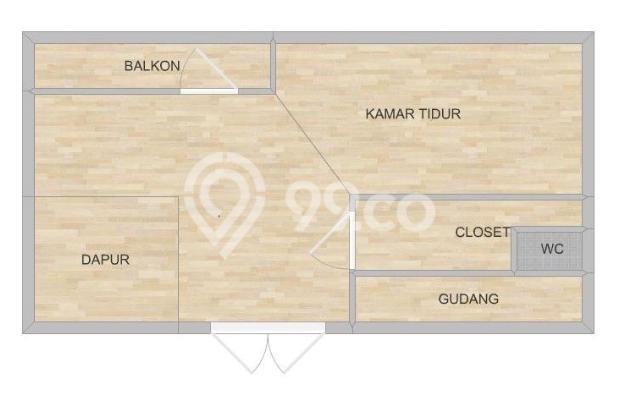Apartemen Minimalis, Cosmo Terrace, Thamrin City 7768124
