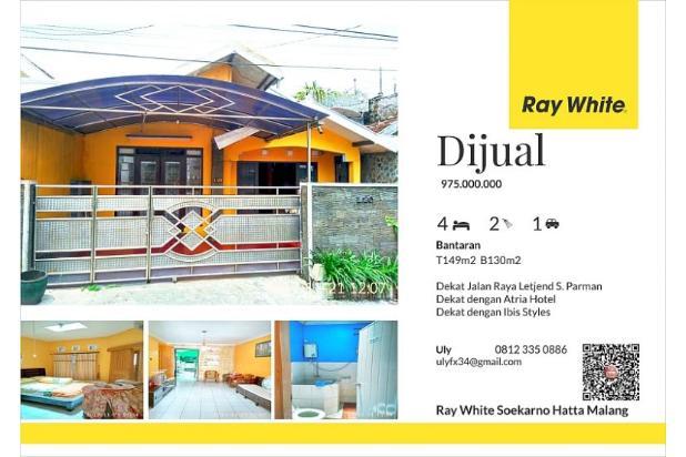 Dijual rumah malang kota jalan Bantaran 14372057