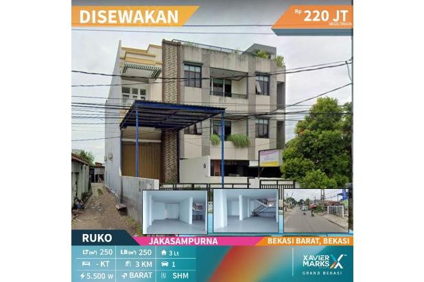 Rp220jt/thn Ruko Disewa