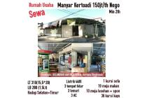 Rumah Usaha Manyar Kertoadi Sabrangan Surabaya Timur Lokasi Strategis Nego