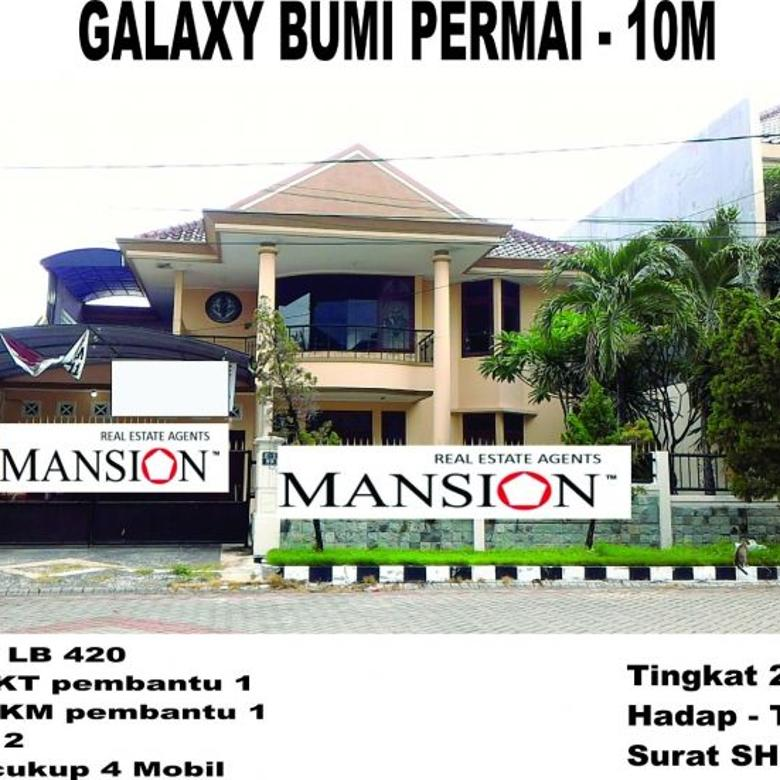 Dijual Rumah Galaxy Bumi Permai