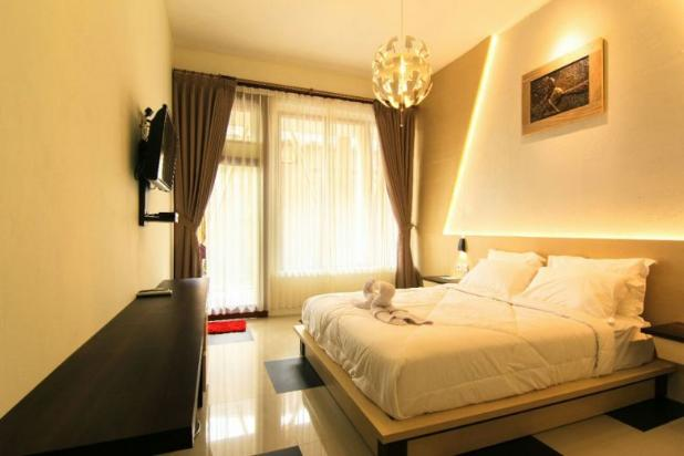 penginapan homestay, lounge dan bar di kuta lombok