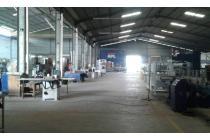 Gedung Exs Pabrik Lt 9000m Lb 3000m di Cikupa Tangerang
