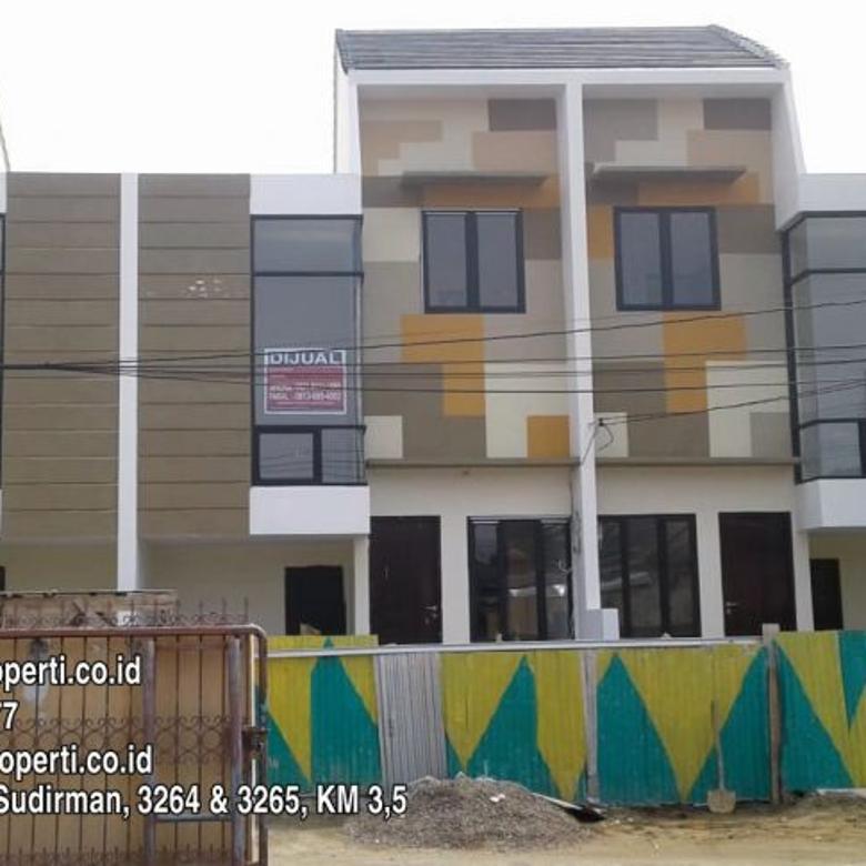 Dijual 6 Unit Townhouse 2 Lantai di Pakjo Palembang