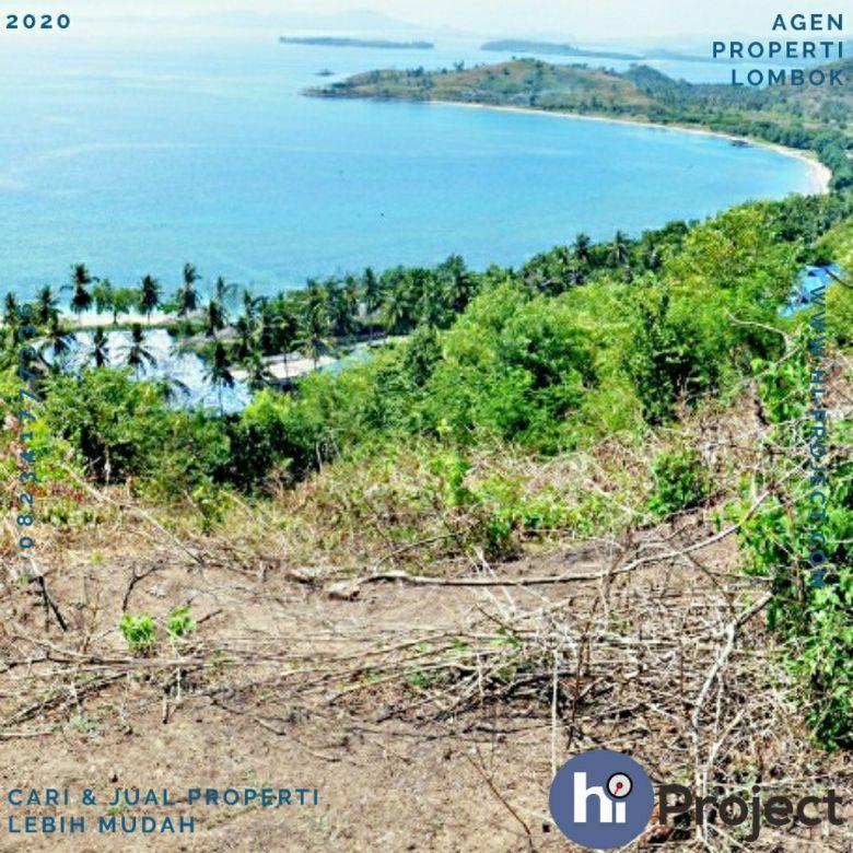 12 are Tanah Bukit full view di Sekotong Lombok barat T436
