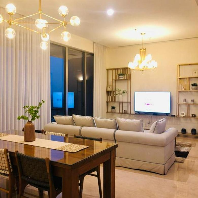 Apartemen Pakubuwono Spring Jaksel Tower Cerrywood 2+1BR Furnished (Ed)
