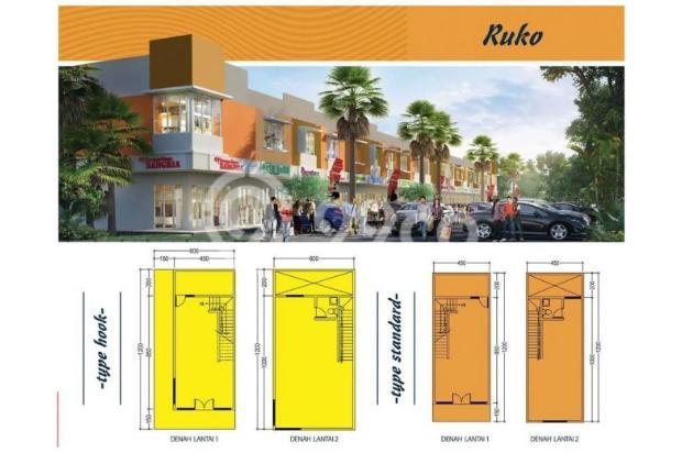 """RUKO murah di perumahan baru modern eksklusif """"the RIVER ..."""