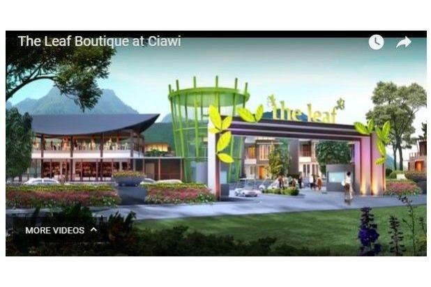 dijual vila nyaman dan strategis di the leaf boutique villas ciawi, bogpr