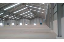 Disewakan gudang di cikarang deltamas luas bangunan  11.500m