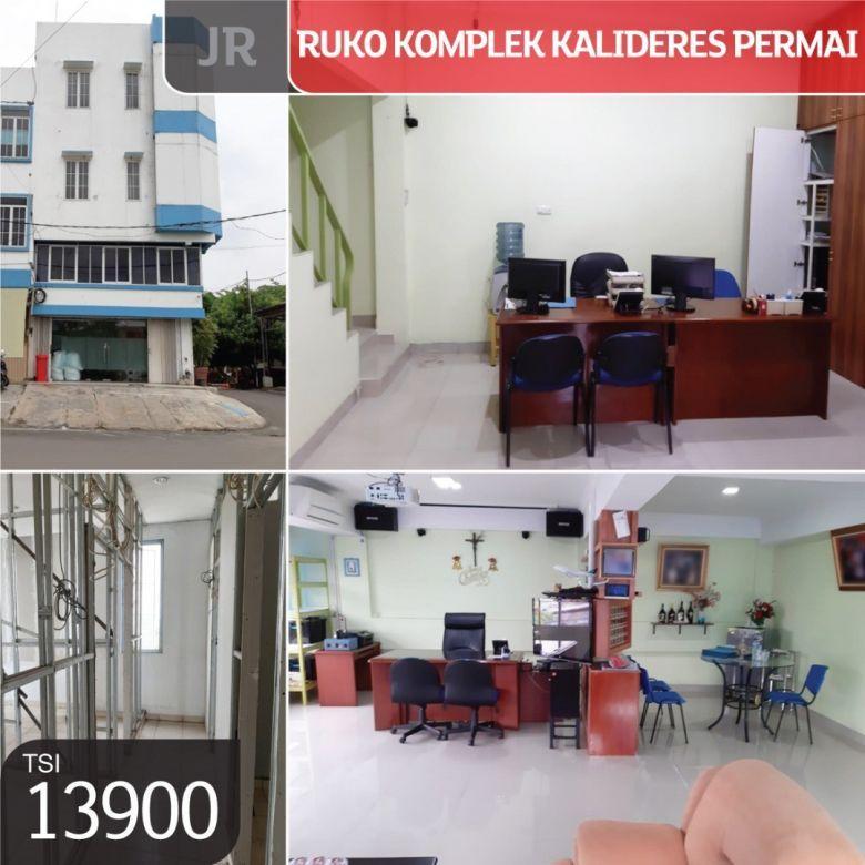 Ruko Komplek Kalideres Permai, Jakarta Barat, 8x17m, 4 Lt, SHM