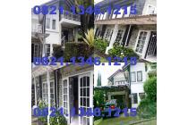 Villa di Lembang Bandung 2 Lantai (4KT, 3KM) 476m2 Furnish