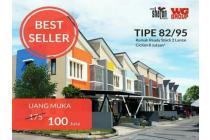 Dijual rumah 2 lantai di Bandung, Ready stock, angsuran 8juya-an