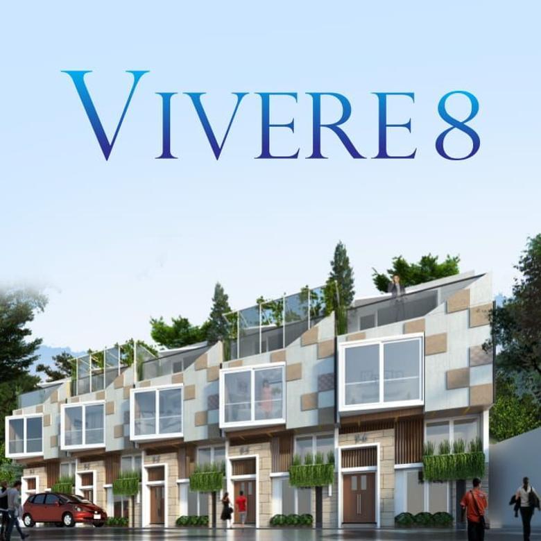 Neo Vivere 8 By Puri @Kemang Rumah Minimalis bergaya Aerodinamis