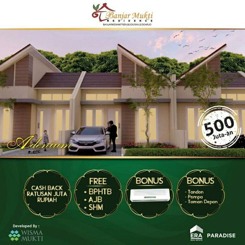 Rumah  BanjarMukti DP 20jt an free BPHTB, SHM