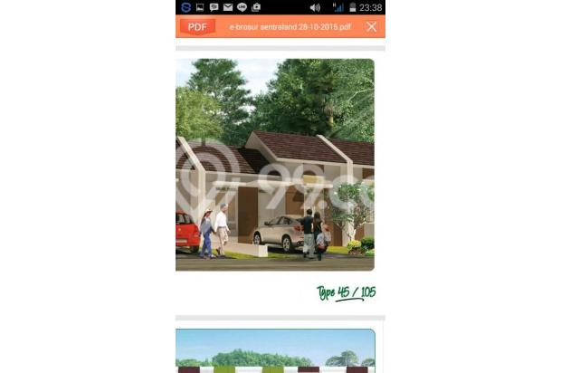 Rumah Murah Super Cluster Sentraland Stasiun Parung Panjang 4298358