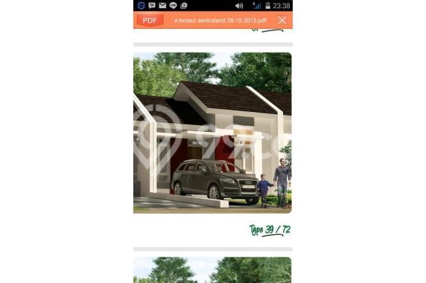 Rumah Murah Super Cluster Sentraland Stasiun Parung Panjang 4298359