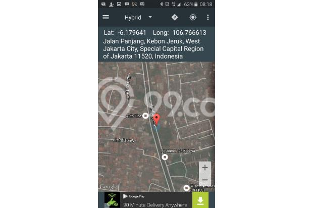 Ditawarkan tanah strategis jalan Panjang kebon jeruk Jakarta Barat 4230903