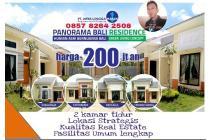 Rumah Idaman 2 kamar Murah berkualitas dekat jalan raya