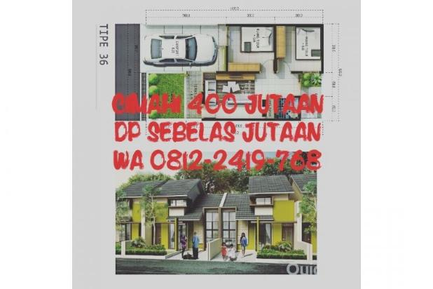 Rumah dijual di Cimahi Utara Cuma 400 Jutaan, DP 11 Jutaan, TERBATAS!!! 12751881