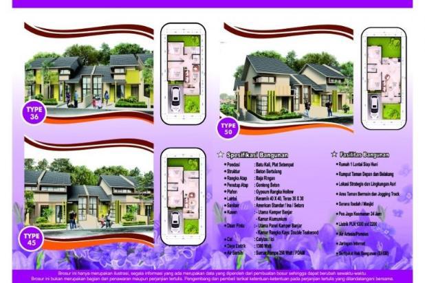 Rumah dijual di Cimahi Utara Cuma 400 Jutaan, DP 11 Jutaan, TERBATAS!!! 12751883