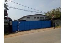 Dijual cepat pabrik Stategis di Jl Mawar , Padurenan Bekasi