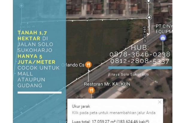 BISA DIAMBIL MIN 1 HEKTAR, 0878-3646-0238, Tanah di Jual di Telukan 1,7 Ha 14907465