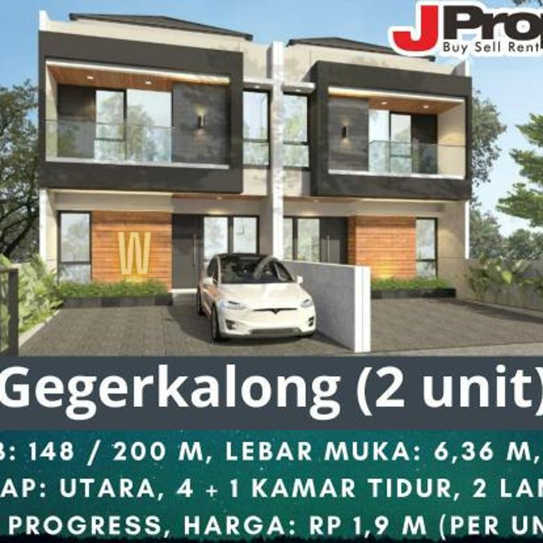 Rumah baru minimalis Geger Kalong
