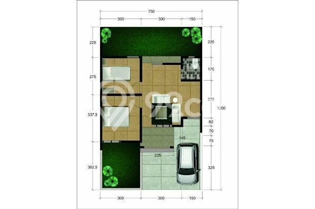 Rumah strategis bebas banjir Purwokerto Selatan 17150488
