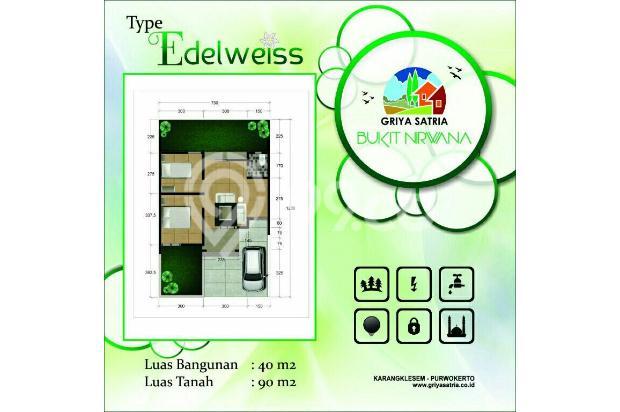 Rumah strategis bebas banjir Purwokerto Selatan 17150504