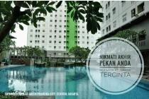 Disewakan Apartemen Bagus di Green Pramuka Jakarta Pusat