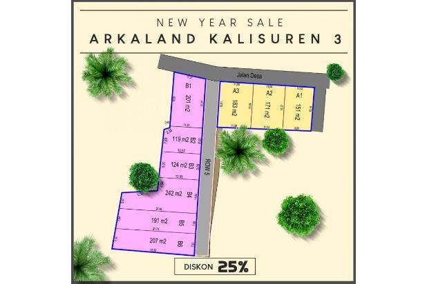 Rp209jt Tanah Dijual