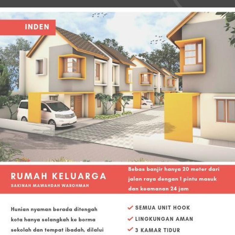Dijual Rumah Nyaman di Buah Batu Town House Bandung