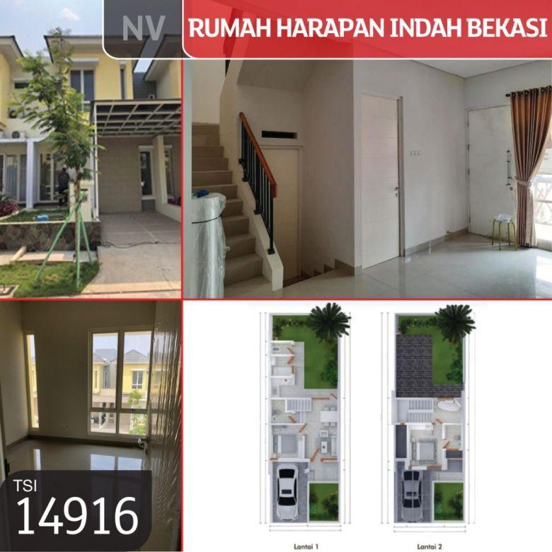 Rumah Harapan Indah Bekasi, Cluster Adara, Bekasi, 108 m², 2 L
