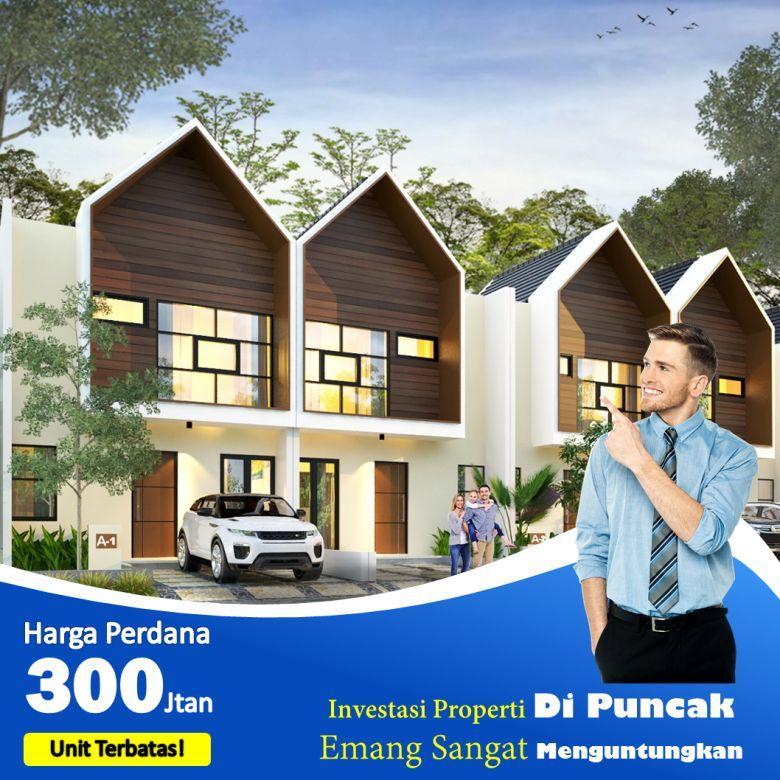 Villa Wassenaar Puncak Cipanas harga 300jutaan desain 2 lantai